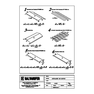Calhas Galvanizadas Para Telhado - 4