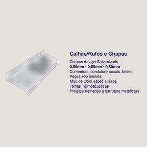 Rufo Chapa Aço Galvanizado